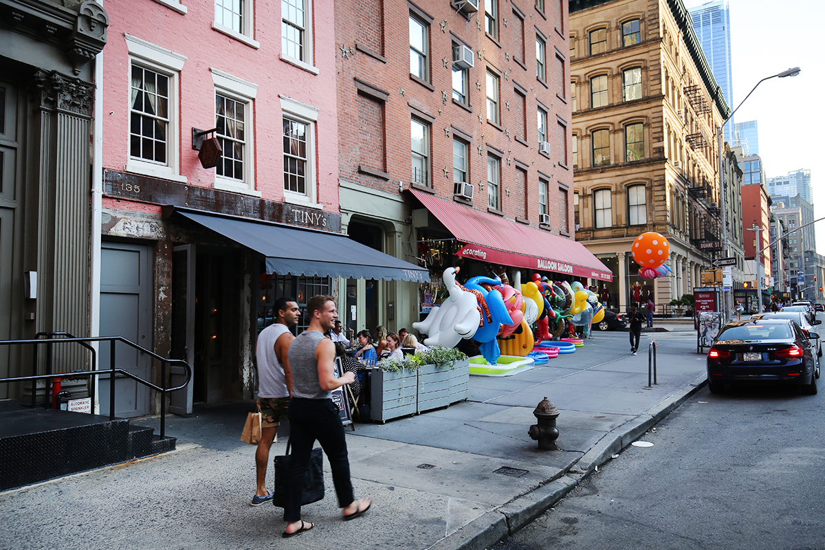 storefront guide pop-up store tribeca new york