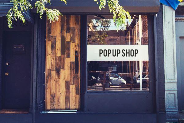 Foto di un temporary shop