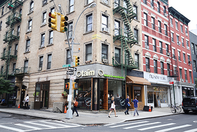 Retail Space in Nolita New York