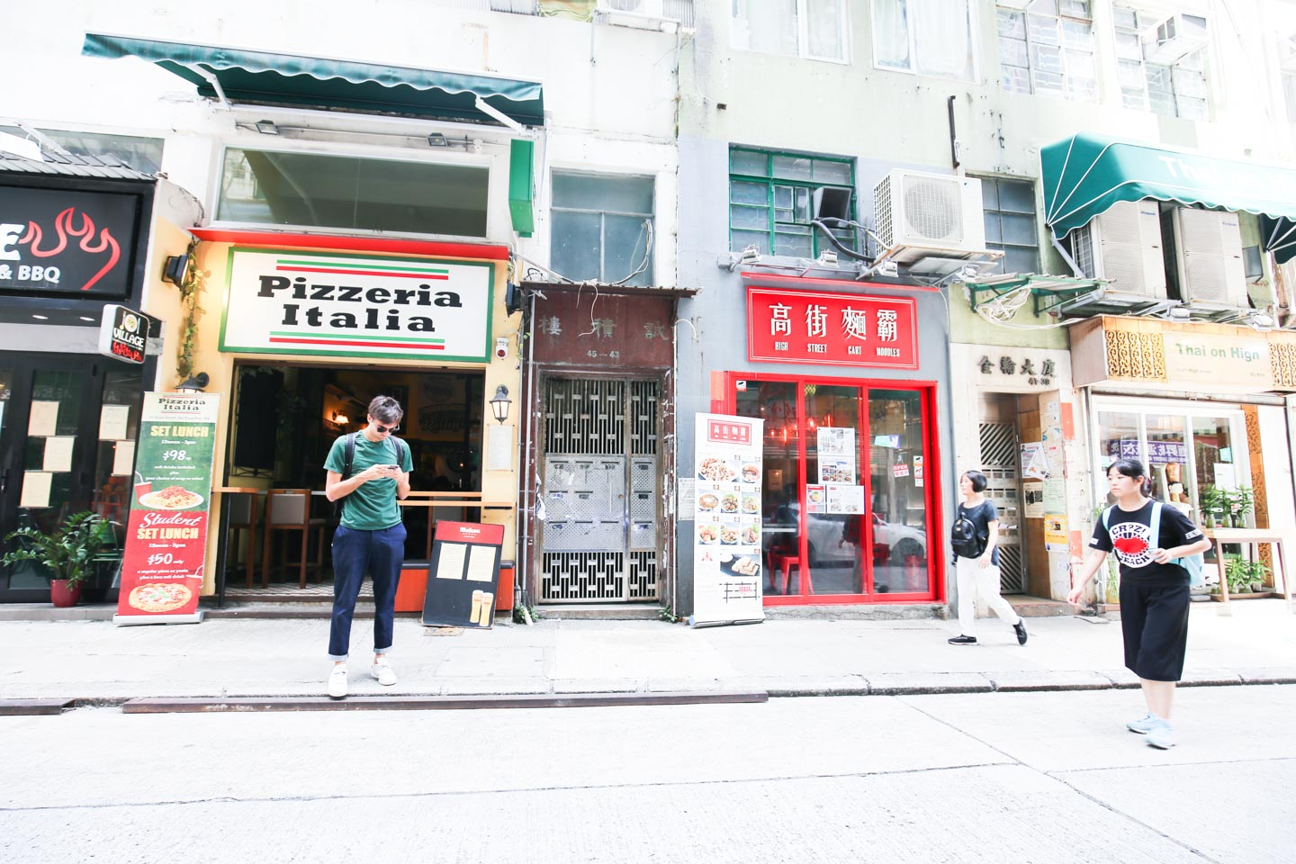 storefront guide pop up store Sai Ying Pun hong kong