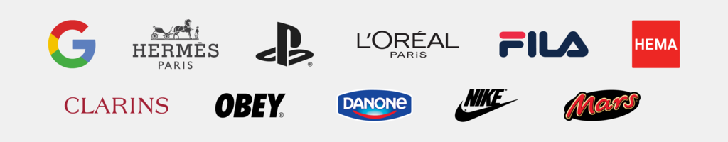 Logos of our partners brands