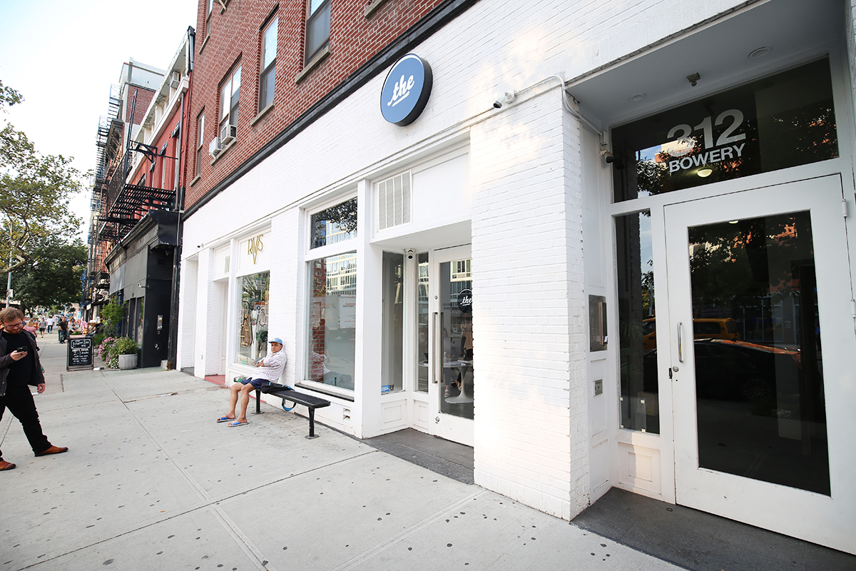 storefront guide pop-up store noho new york