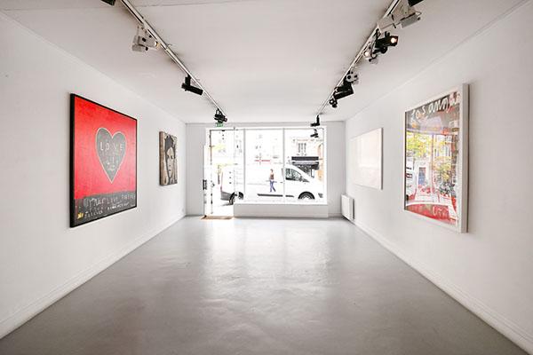 Galerie d'art dans Paris