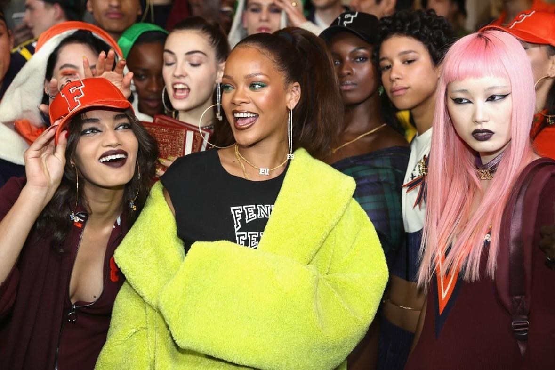 Showroom di Rihanna a Parigi