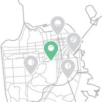 Localisation des espaces facile sur Storefront