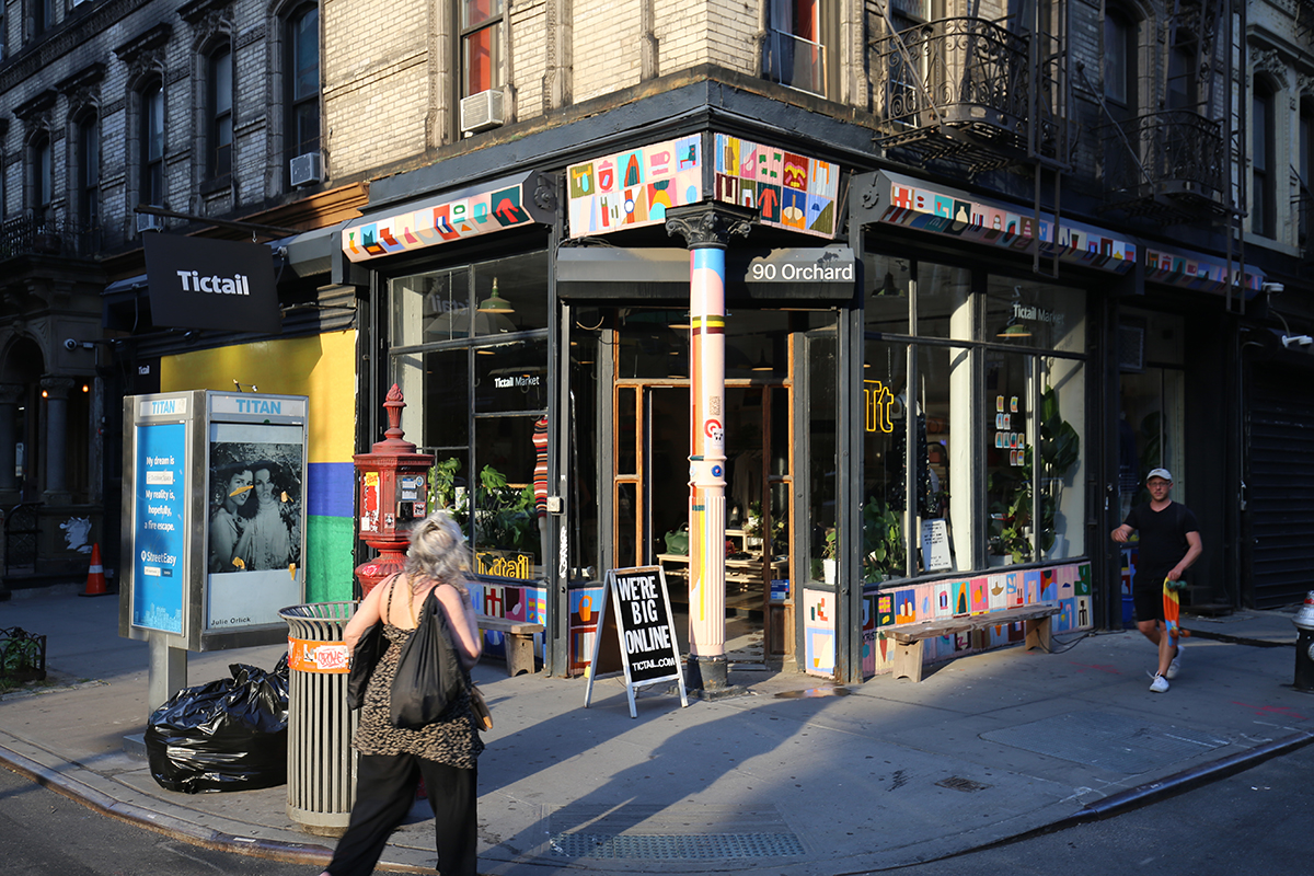 storefront guide pop-up store lower east side new york