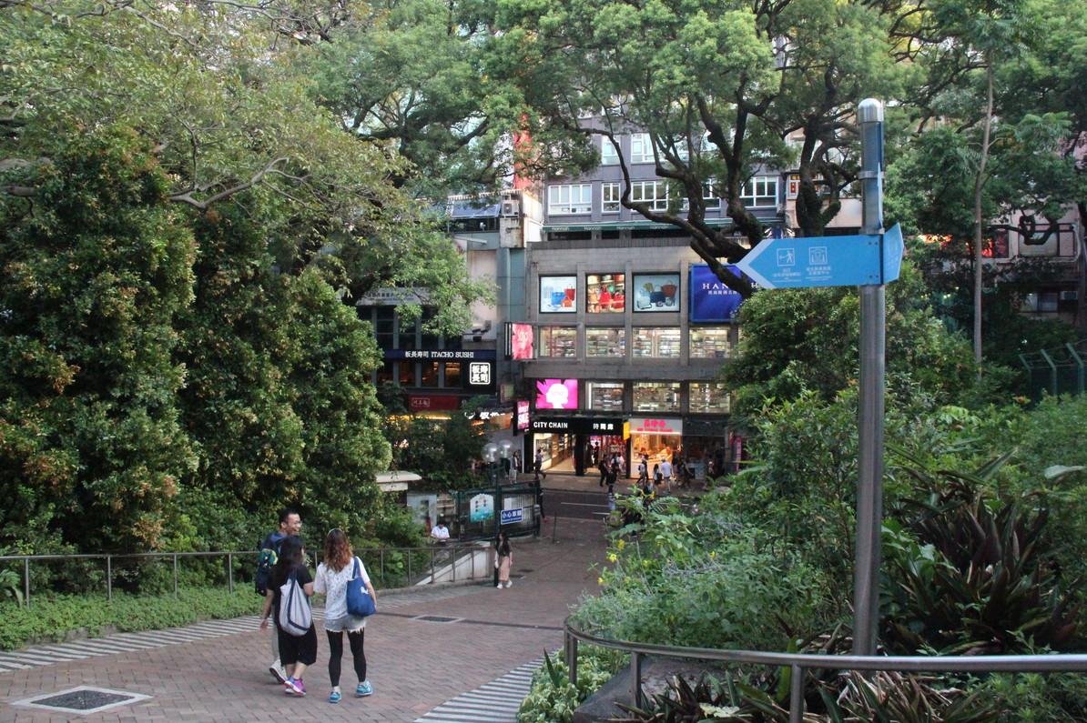 storefront guide retail space tsim sha tsui hong kong